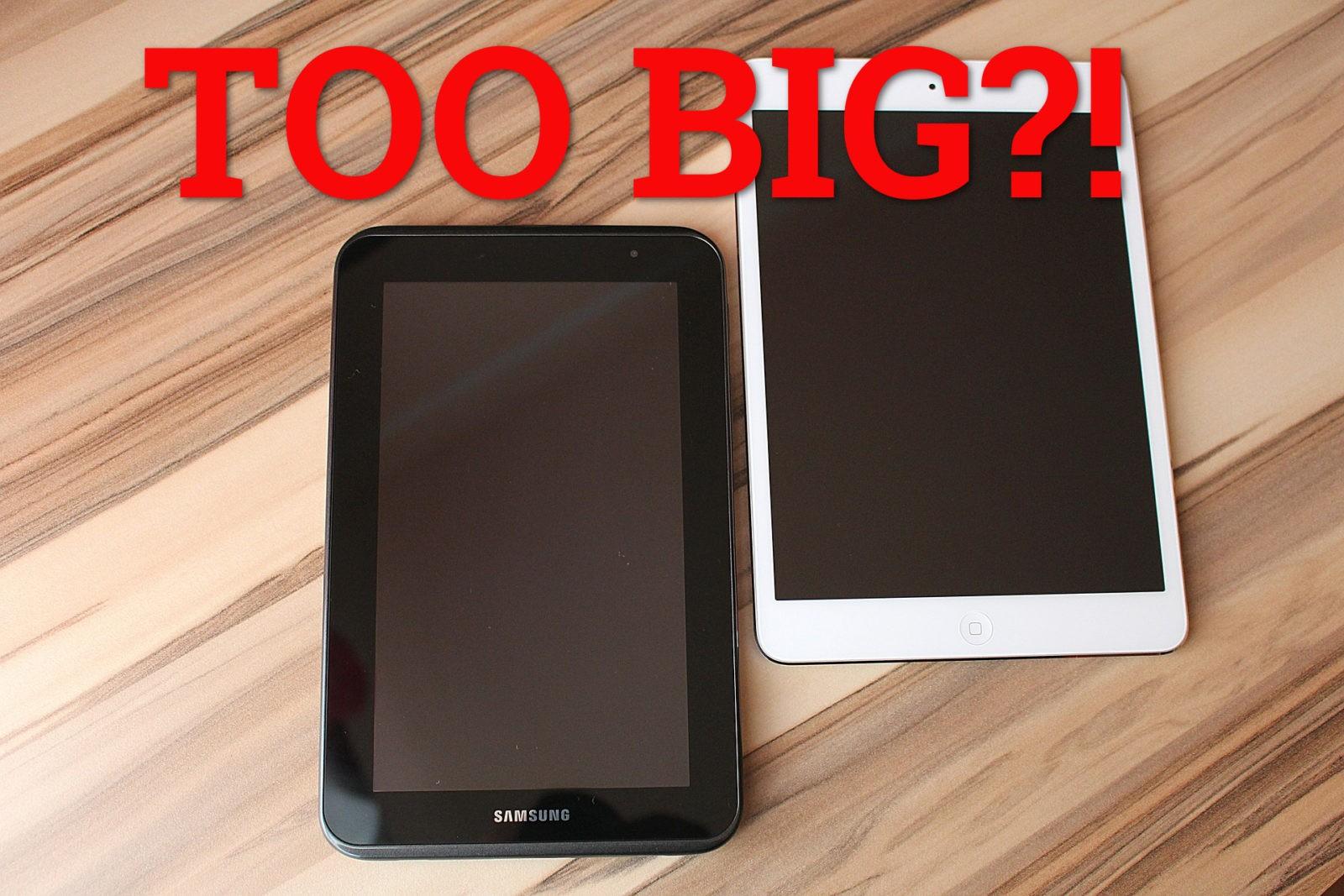 GeekOutdoors Ep16: iPad Pro, Samsung Galaxy View – Too BIG?