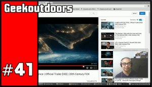 GeekOutdoors Ep41: Independence Day Resurgence, Hideo Kojima is back?