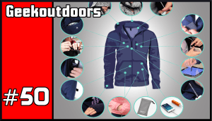 GeekOutdoors Ep50: Digital Clothing, Hypnos Hoodie, Tech Travel Jacket