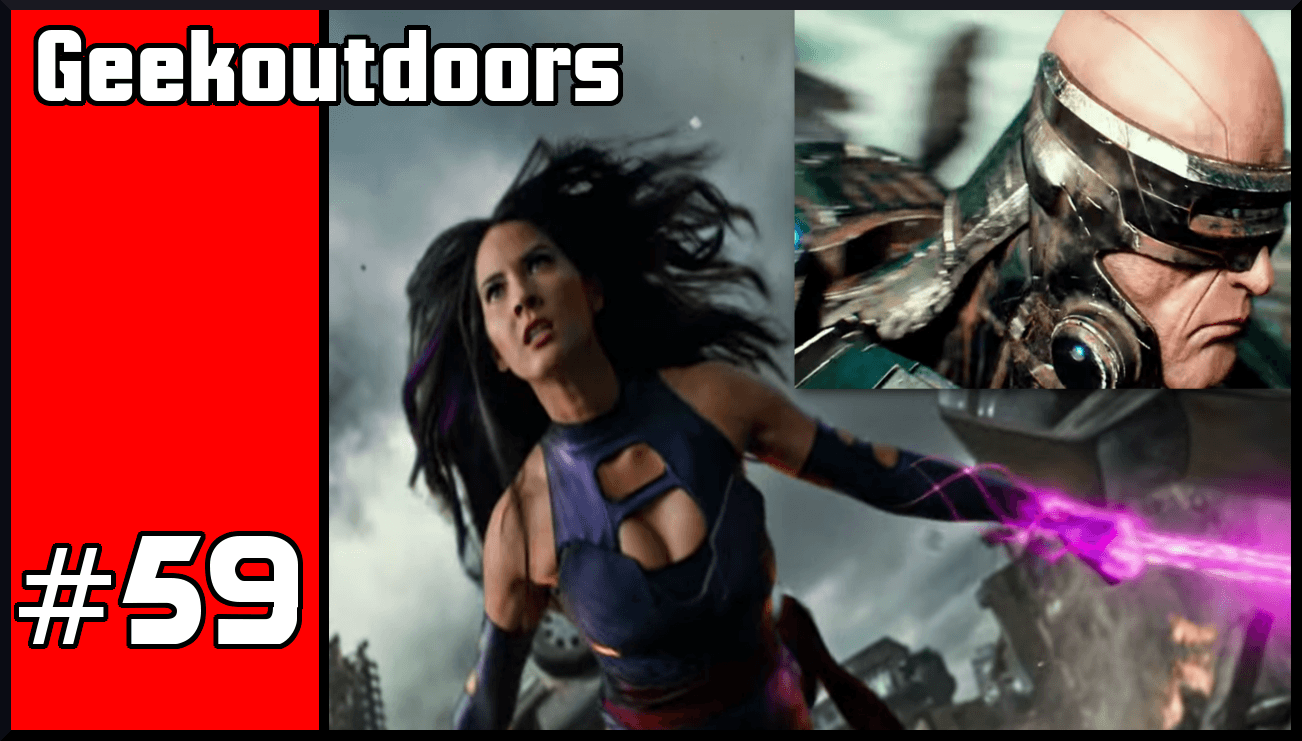 GeekOutdoors Ep59: Super Bowl Trailers Mega Reviews 2016