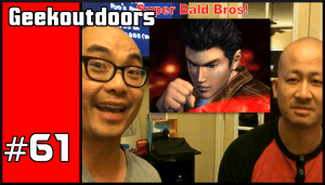 GeekOutdoors Ep61: Shenmue Thoughts – What Shenmue Meant to Me
