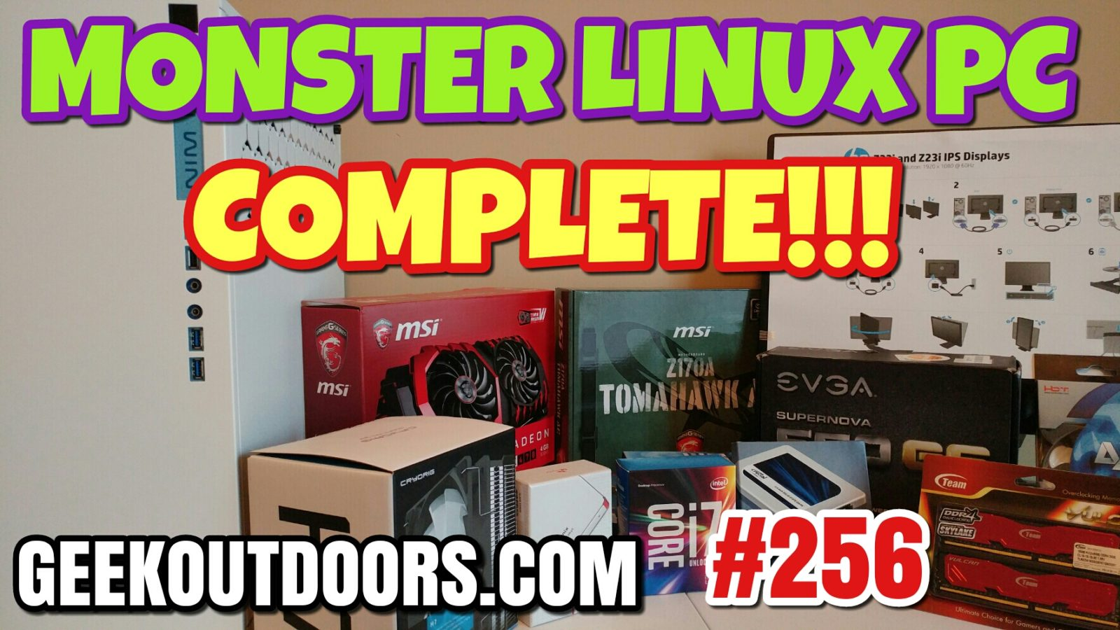 Monster Linux PC Build!